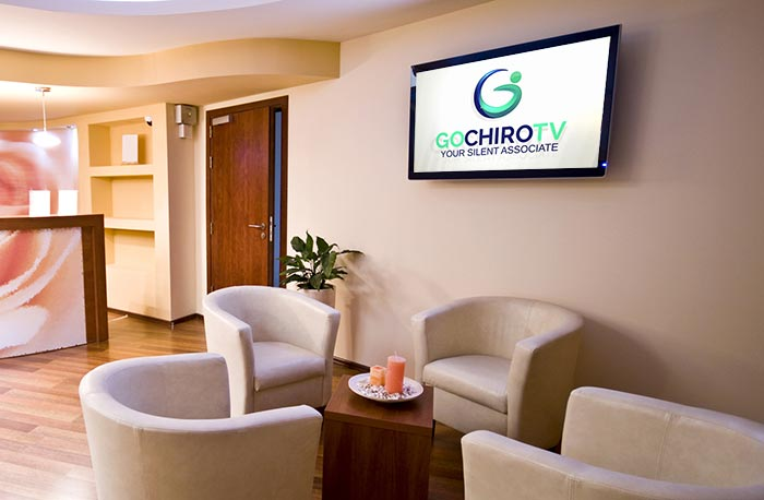 Gochirotv waiting room signage